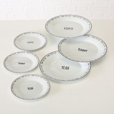 ΠΙΑΤΑ Yummy 3/ass D27cm porcelain