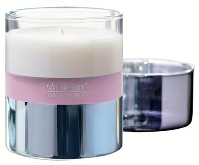 SCENTED CANDLE IN JAR MILANO 380 gr MAGNOLIA BLOSSOM & WOOD (HS CODE 34060000)