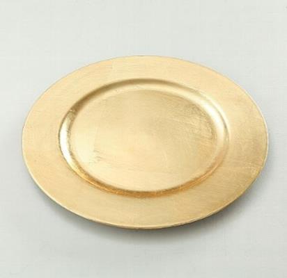 ΠΙΑΤΕΛΑ/ΣΟΥΠΛΑ D33cm,ΧΡΥΣΟ Plastic